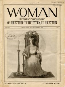 "Check out the digitized ""Woman"" magazine!"